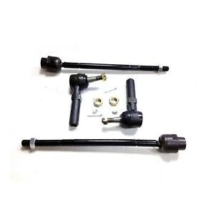 2 Outer And 2 Inner Tie Rod Front End Kit Impala Montecarlo Grand Prix Intrigue