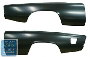 1953 61 Studebaker 2 Door Coupe Factory Style Rear Fenders Now Available