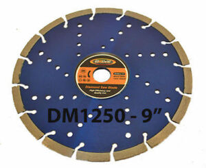 Drive Pro series 9 Cool Cutting Diamond Concrete Cement Green Early Entry Blade