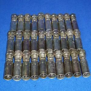 Parker 1 4 Npt 1 4 Hose Size Crimp Hose Fitting 108ms 4 4b lot Of 30 New