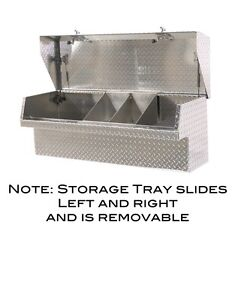 Low Side Mount Truck Tool Box 48 Lo side Toolbox Movable Parts Tray Heavyduty