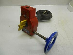 New Nibco 3 Butterfly Valve Fig 3510 4