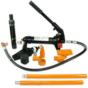 4 Ton Hydraulic Portapower Set Auto Body Tool Kit Jack