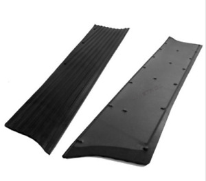 Chevrolet Chevy Car Running Board Mat Cover Set Moulded Rubber 1937 1938