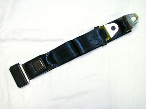 Dark Blue 2 Point Lap Seat Belt Middle Passenger Safety Belt Navy Street Rod