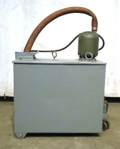 Hydraulic Power Unit W howell 1 4hp Motor A 141 Frame 26 X 21 X 15 35 Gal