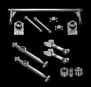 1979 1998 Mustang Pro Series Chrome Moly Rear Suspension Kit Arms Anti Roll Bar