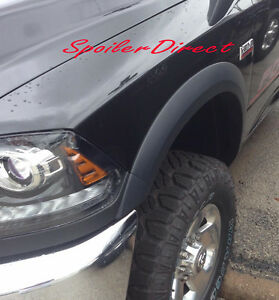 Factory Style Fender Flares For 2010 2018 Dodge Ram 2500 Ram 3500 Paintable