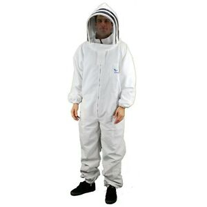 Eco keeper Premium Beekeeping Suit With Bee Veil bee Suit Medium