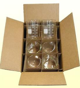 G 1630 Case Of 6 600ml Pyrex Beakers By Corning Save 15