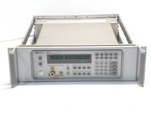 Agilent Hp Keysight 85644a Rf Tracking Generator 300 Khz To 6 5 Ghz rackmount
