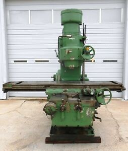 Kearney Trecker Vertical Milling Machine Model No 430tf 17 Serial No 39281