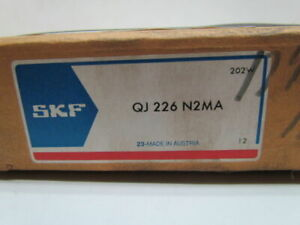 Skf Qj 226 N2ma 130x230x40mm Open Four Point Angular Contact Bearing
