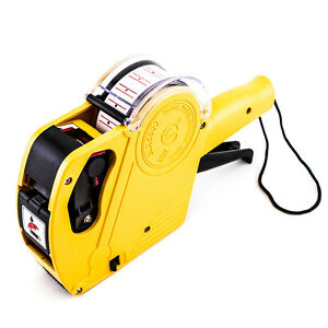 Price Tag Gun Labeler Mx 5500 Eos 8 Digits Labeller Included Labels