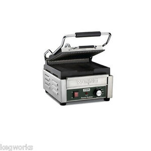 Waring Panini Grill Sandwich Maker Ribbed Toaster Restaurant