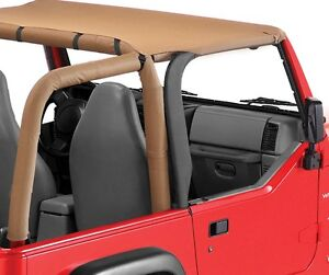 1997 2006 Jeep Wrangler Unlimited Bikini Bimini Top Spice Tan