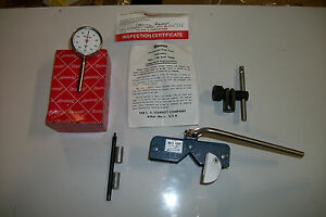 Starrett Universal Dial Test Indicator 196 W Erick Magna Holder Free Usa Ship