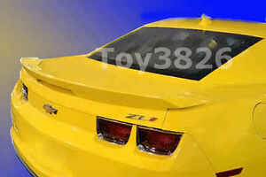 2010 2013 Chevy Camaro Zl1 Factory Style Spoiler Rear Wing With Brake Lights