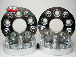 4 Wheel Spacers Adapters 5x4 5 To 5x100 1 Thick 5 Lug