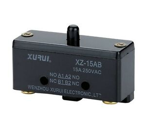 1 xz 15ab No nc Contact Miniature Basic Micro Switch Spdt 15a 125v Car Electric