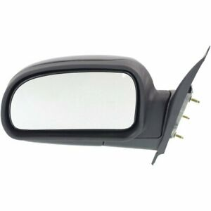 New Mirror Driver Left Side Olds Chevy Textured Black Lh Hand Gm1320264 15789780