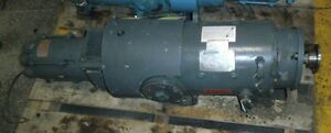 Louis Allis 7 5hp Direct Current Motor W Explosion proof Tach Generator