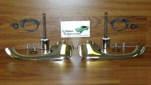 Door Handles 68 79 Nova Chevy Ii 2 W Push Buttons Outside Pair In Stock
