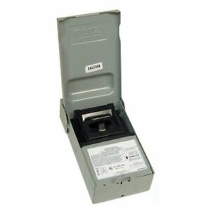 Mars 83316 Safety Disconnect Switch Pullout Type 30a 240vac Nema 3r Rainproo