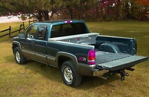 Narrow Diamond Plate Truck Tool Box 99 Up Chevy Gmc Full Size