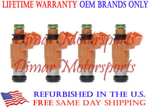 Lifetime Warranty Oem Genuine Bosch Fuel Injector Set Of 4