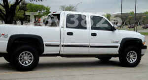 1999 2006 Chevy Silverado 2500hd Factory Style Fender Flares In Matte Black 4 Pc