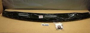 2001 2002 Chevrolet Silverado 2500 3500 Hd Smoked Hood Air Bug Deflector New Oem