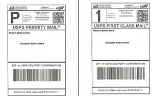 S 1000 Shipping Postage Labels 2 Labels Per Page 8 5x5 5 Usps Fedex Paypal
