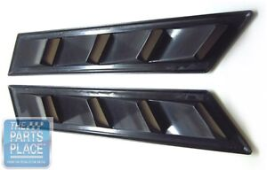 1978 87 Buick Gnx Style Fender Louvers Pair