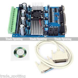 Tb6560 4 axis 3 5a Stepper Motor Driver Controller For Engraving Machine