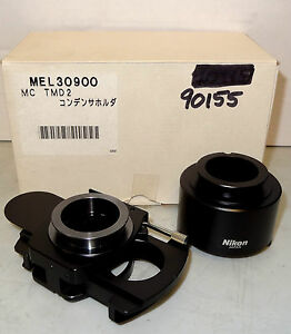 Nikon High Na Dic Microscope Tmd200 300 Condenser Unit