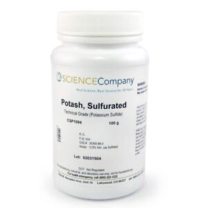 Nc 10959 Potash Sulfurated 100g Liver Of Sulfur Patina Copper Silver