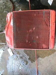 Allis Chalmers B Radiator holds Water No Leaks Item 1818