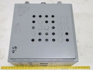 Sce 20x20x10 Jic Box Electrical Enclosure Wall Mount Backplate