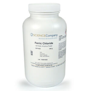 Ferric Chloride Lab Grade Anhydrous 500g Patina Etching