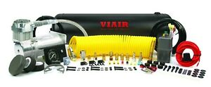 Viair 10005 On Board 400c Air Compressor System With 2 5 Gallon Tank 12 Volt