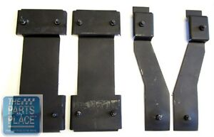 1962 65 Chevrolet Nova Chevy Ii Bucket Seat Mounting Brackets 4 Piece Set