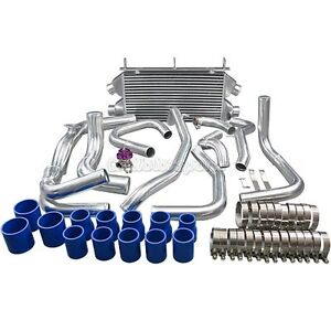 New Design Twin Turbo Intercooler Kit Bov For Mit 3000gt Dodge Stealth Td04