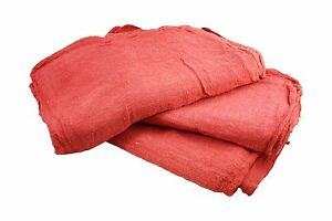 10000 Pcs Red Cotton Shop Towels Rags first Grade New Wipers