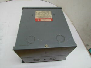 Square D 1 5s6fis Single Phase Dry Type Transformer 1 5kva 120 240v Type S
