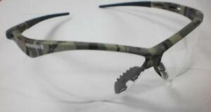 Pair Of 6 Nemesis Safety Glasses Camo Frame Clear Anti fog Lens 3020706