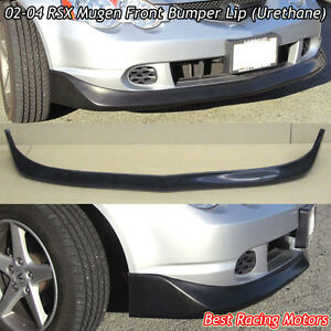 Mu Gen Style Front Bumper Lip Urethane Fits 02 04 Acura Rsx 2dr