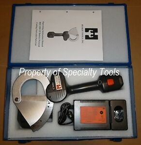 Huskie Rec 85ccp Battery 14 4v Robo Wire Cutter 3 Telcom Cable Cutting Tool