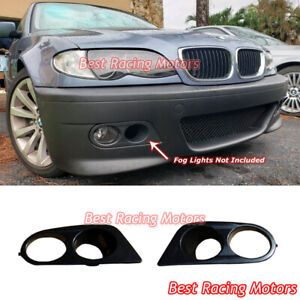 Hamman Style Air Duct Fog Light Covers Abs Fits 01 06 Bmw E46 M3 Only