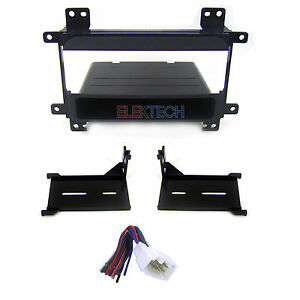 Radio Replacement Dash Mount Kit Single Din W Pocket Harness For Suzuki